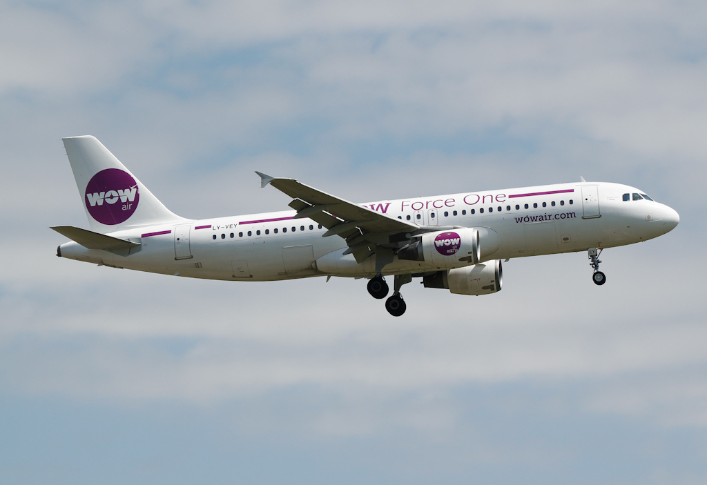 Avión de Wow Air